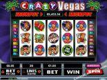 слот автомат игра Crazy Vegas RealTimeGaming