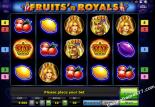 слот автомат игра Fruits and Royals Novoline